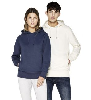 Earth Positive Classic Heavy Unisex Raglan Pullover Hoody with Side Pockets