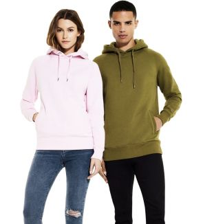 Continental Clothing Men's / Unisex Pullover Hoody with Side Pockets
